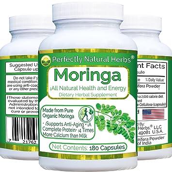 Amazon.com: Fabricado con Moringa En Polvo Orgánico, 180 ...