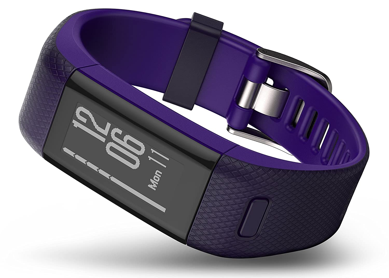 Amazon.com: Garmin 010-01955-31 Vivosmart HR Plus - Ww, Purple, Regular: Cell Phones & Accessories