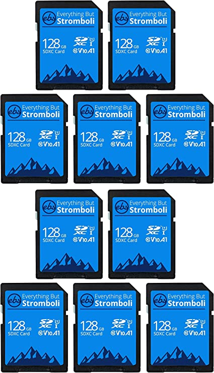 Everything But Stromboli Sd Card Class 10 Multipack Computer Zubehör