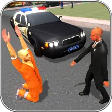 Police Car Robbers Chase Simulator 2017 3D Free