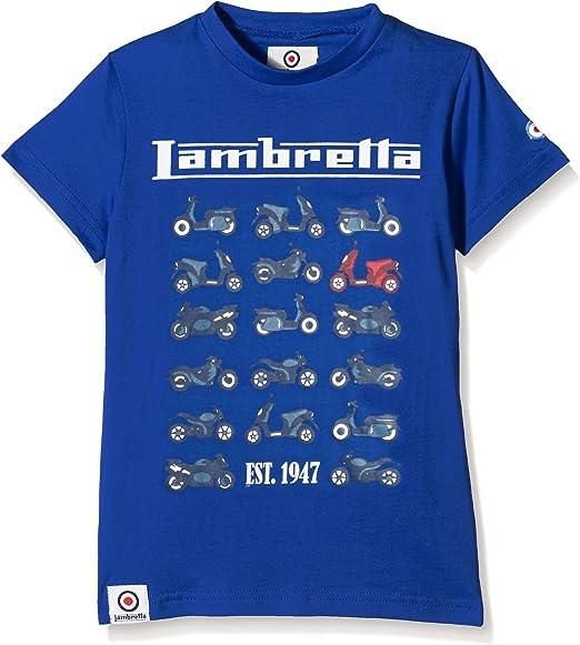 Lambretta Moto tee Camiseta para Niñas: Amazon.es: Ropa y accesorios