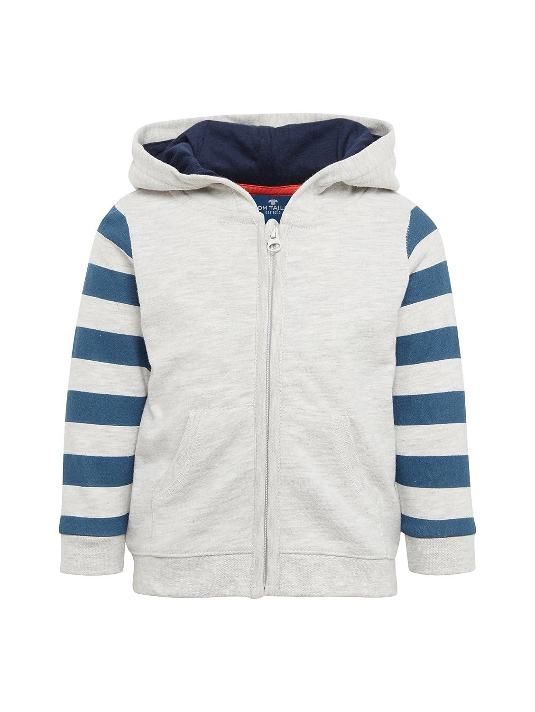 TOM TAILOR für Jungen Strick & Sweatshirts Sweatjacke mit Tiger-Kapuze