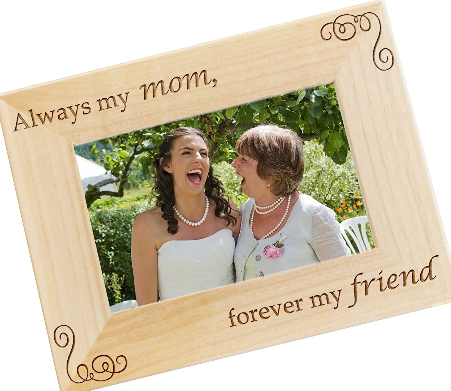 Mother of the Bride Gift WF14 Personalized Photo Frame Mother of the Groom Present Mothers Day Picture Frame for Moms