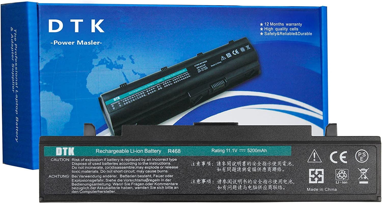 DTK AA-PB9NC6B AA-PB9NS6B AA-PB9NS6W Batería de Repuesto para Portátil SAMSUNG R428, R439, R460,R468, R470, R480, R519, R580, R620, R700,R720, R728, R780, RC420, RC510, RC520, RC530, P428, P467, Q320