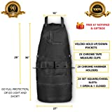 Premium Waxed Canvas Tool Apron with Fast Grab