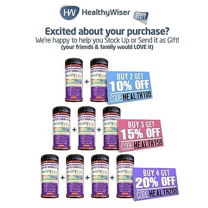 healthywiser tiras de prueba de pH, 1, 1: Amazon.es: Salud y cuidado ...