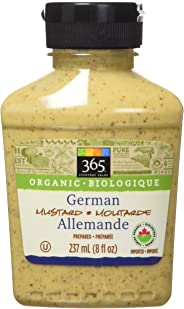 365 Everyday Value Organic German Mustard, 8 oz