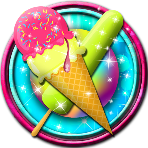 Ice Cream Coloring Book -