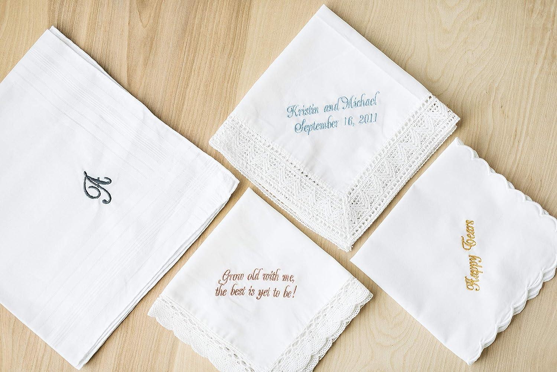 Collectibles bride handkerchief vintage hankies Vintage man handkerchief wedding handkerchief gift for her