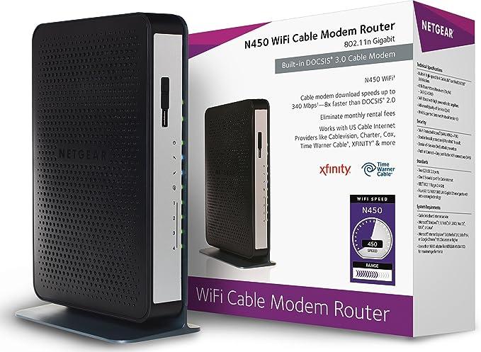 Review NETGEAR N450 (8x4) WiFi