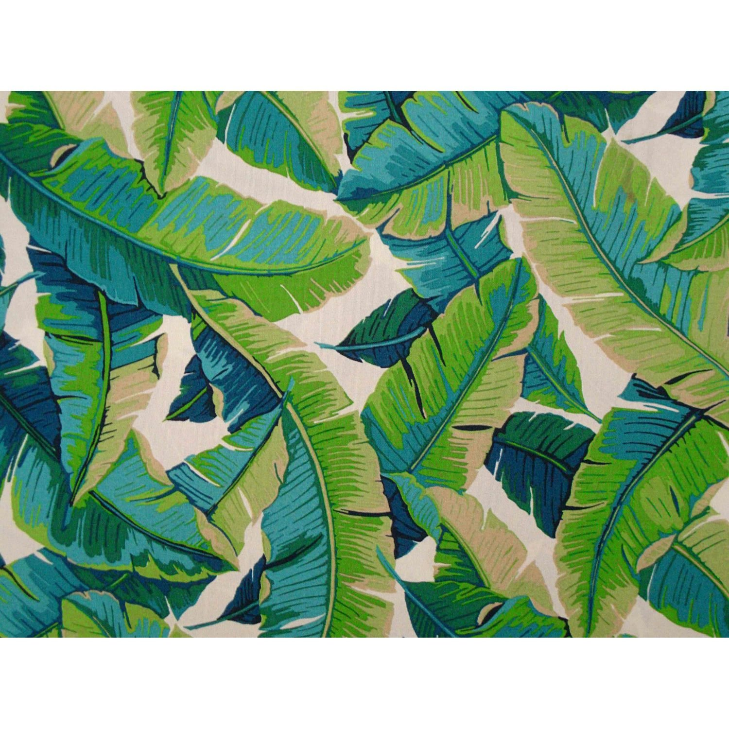 Balmoral Futon Cover Twin Size, Proudly Made in USA (Hawaiian Theme, Tropical Island, Banana Leaf Print, Available in Full, Queen, Twin and Other Sizes)