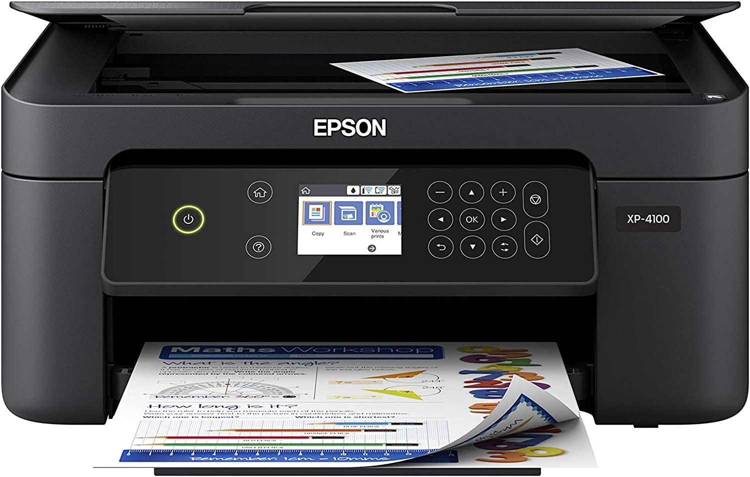 Epson Expression Home XP-4100 Wireless Color Printer with Scanner and Copier (Renewed)