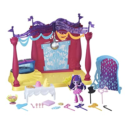 My Little Pony Equestria Girls Minis Canterlot High Dance Playset with Twilight Sparkle Doll: Toys & Games