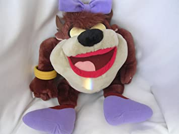 "Tazmania Girl Plush Toy 15"" Collectible"
