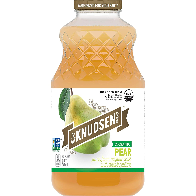 R.W. Knudsen Organic Pear Juice, 32 Ounces (Packaging May Vary)