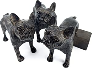 Plant Risers for Pots. Decorative Feet for Planters. Use Indoor and Outdoor to Improve Airflow and Drainage. Hand Painted French Bulldog/Frenchie Set of 3