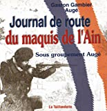 Journal de Route du Maquis de l'Ain