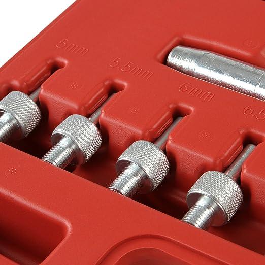 Timbertech - Kit de herramienta para retenes de válvulas con 7 adaptadores: Amazon.es: Bricolaje y herramientas