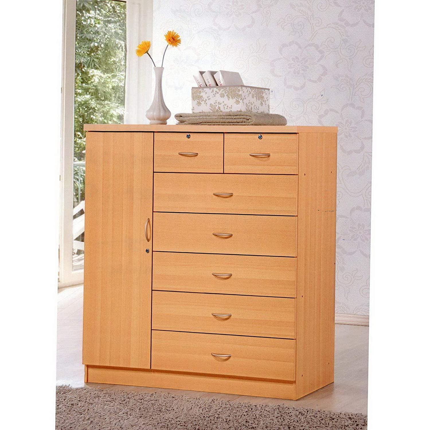 Amazon.com: Hebel Storage Lock Cloths Wide Deep Dresser ...