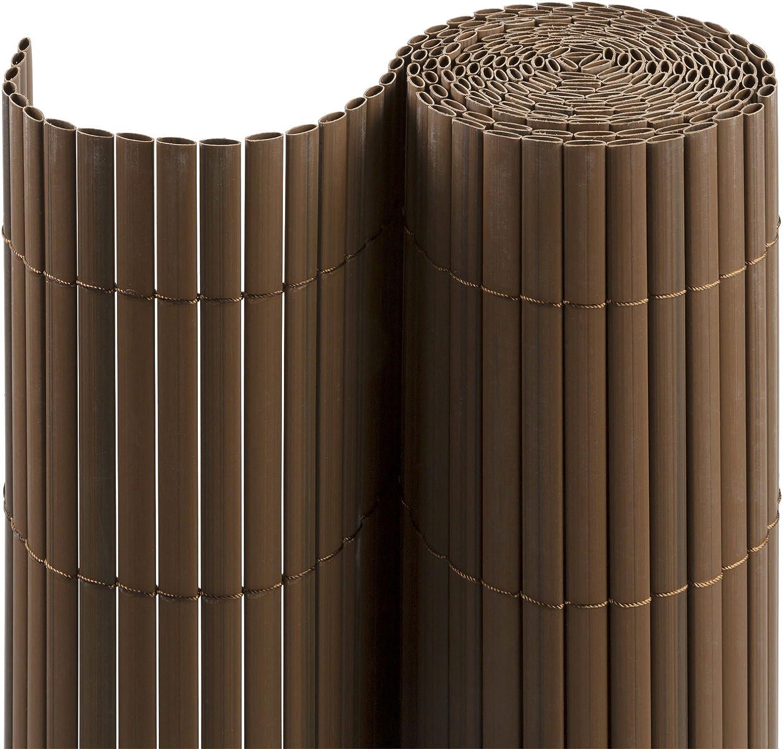 Balcone e Terrazza 100 x 300 cm Simile a RAL 7016 Grigio jarolift Canniccio PVC Recinzione Paravista per Giardino