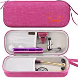 Canboc Stethoscope Carrying Case for 3M Littmann Classic III, Lightweight II S.E, MDF Acoustica Stethoscopes, Mesh Pocket fit Nurse Accessories Medical Reflex Hammer LED Penlight, Raspberry