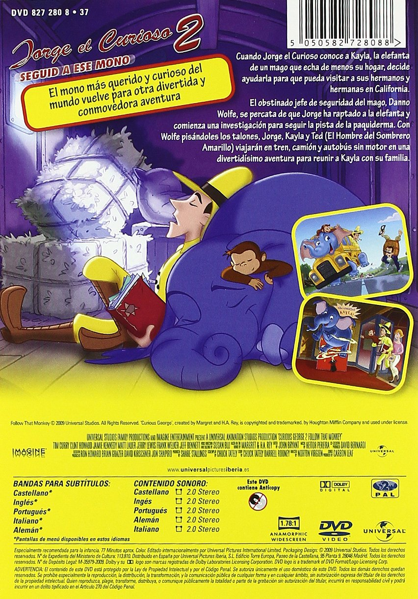 Pack Jorge El Curioso Las Peliculas [DVD]: Amazon.es: Varios: Cine y Series TV