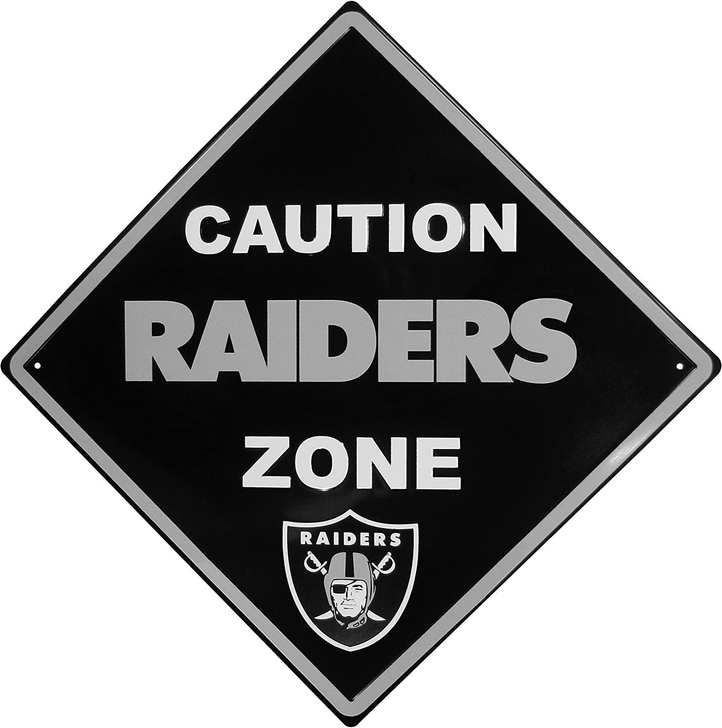 NFL Unisex Caution Wall Sign Plaque