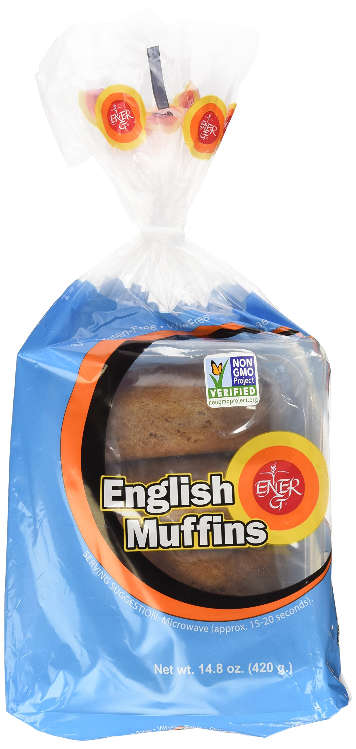 Ener-G Foods English Muffins, 14.8-Ounce Units (Pack of 6)