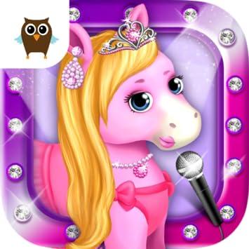 Amazoncom Pony Sisters Hair Salon 2 Pet Horse Makeover Fun