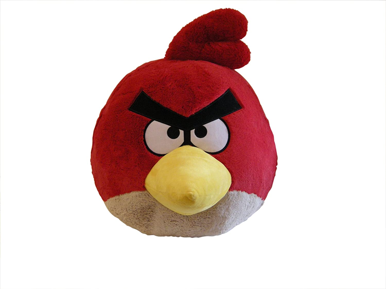 Angry Birds Plush 12-Inch Girl Red Bird with Sound