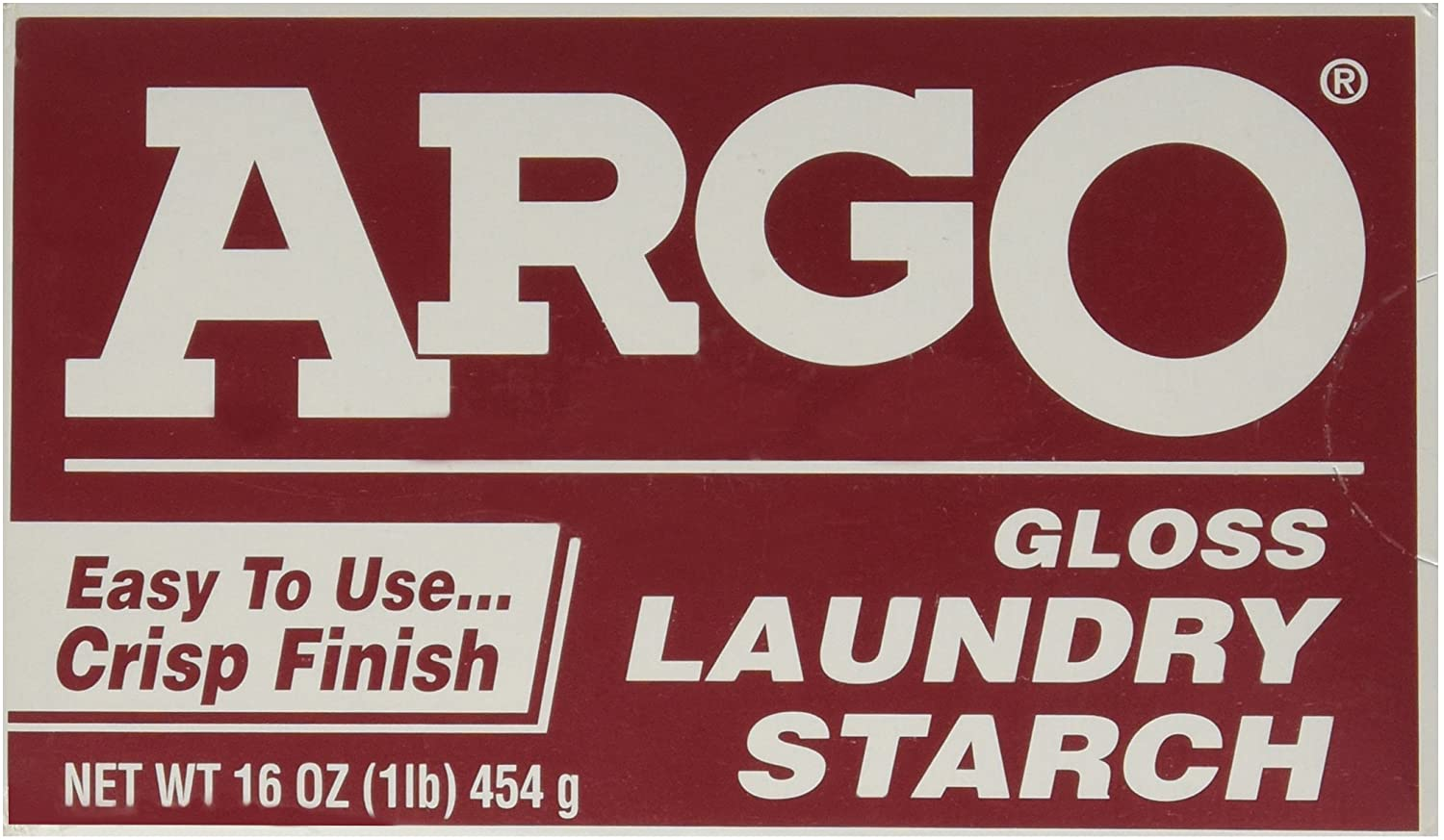 Argo Gloss Laundry Starch