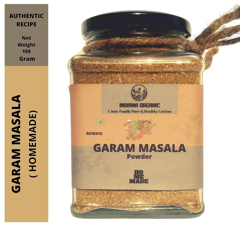 Indiana Organic Garam Masala Powder Authentic Homemade 150 Gram Amazon In Grocery Gourmet Foods