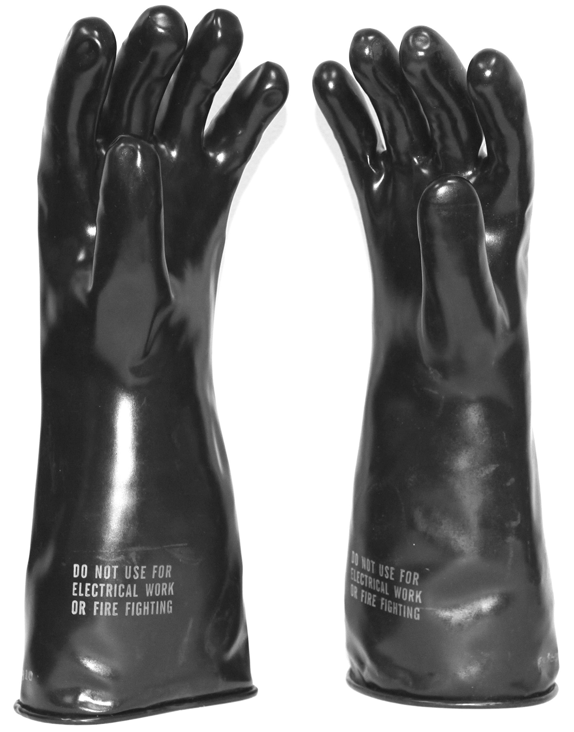 Butyl Rubber Gloves Chemical Reisistant 48 Per Box Large by Sibe North / Brunswick (Image #1)