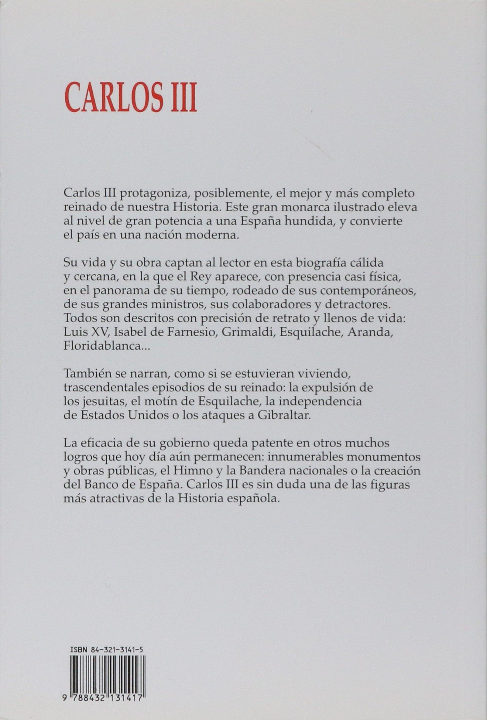 Carlos III (Historia y Biografías): Amazon.es: Vaca de Osma, José Antonio: Libros
