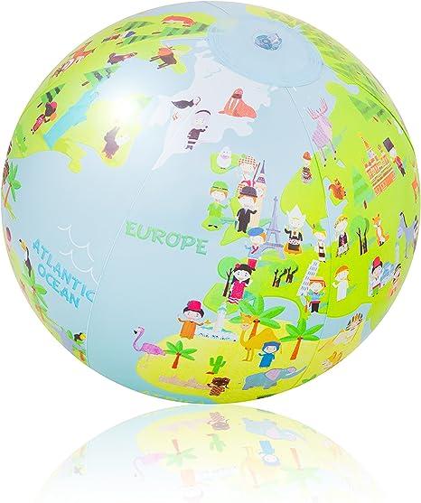 Pi-Pe – Pelota de Playa Agua Ball Stars: Amazon.es: Deportes y ...