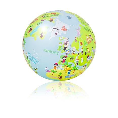 Pi-Pe - Pelota de Playa Agua Ball Stars: Amazon.es: Deportes ...