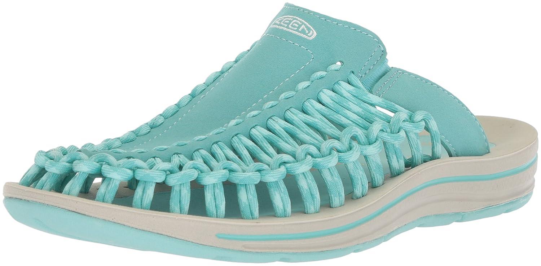 KEEN Women's Uneek Slide-w Sandal B071CL243T 5.5 B(M) US|Aqua Sea/Pastel Turquoise