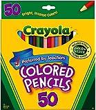 Crayola 50 ct Long Colored Pencils (68-4050), 3 Sets