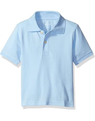 7f0960723a The Children s Place Baby Boys  Short Sleeve Uniform Polo