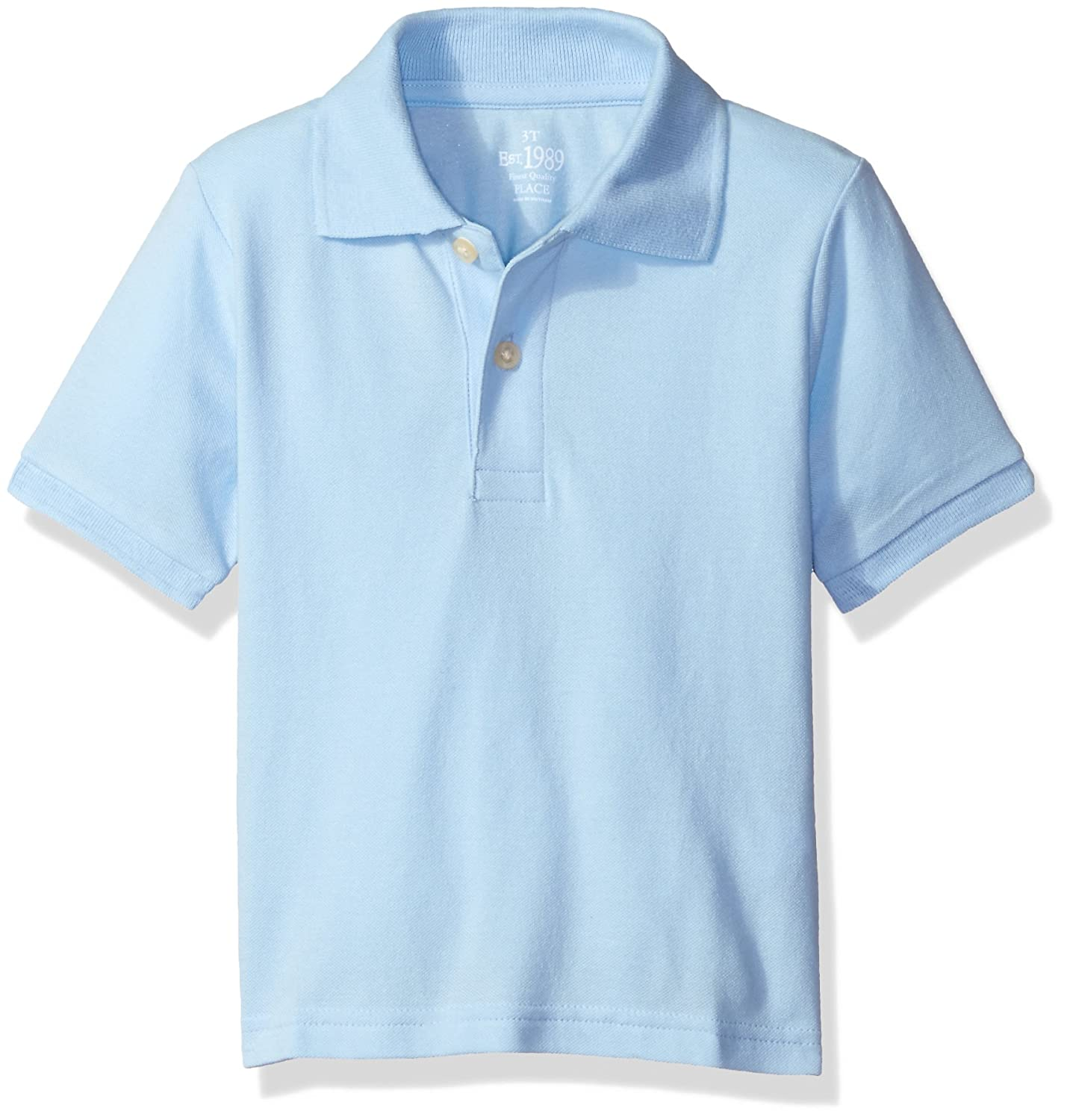 The Childrens Place Baby Boys Short Sleeve Uniform Polo