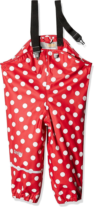 Red CareTec Kids Rain Pants Dungarees Red 402 104