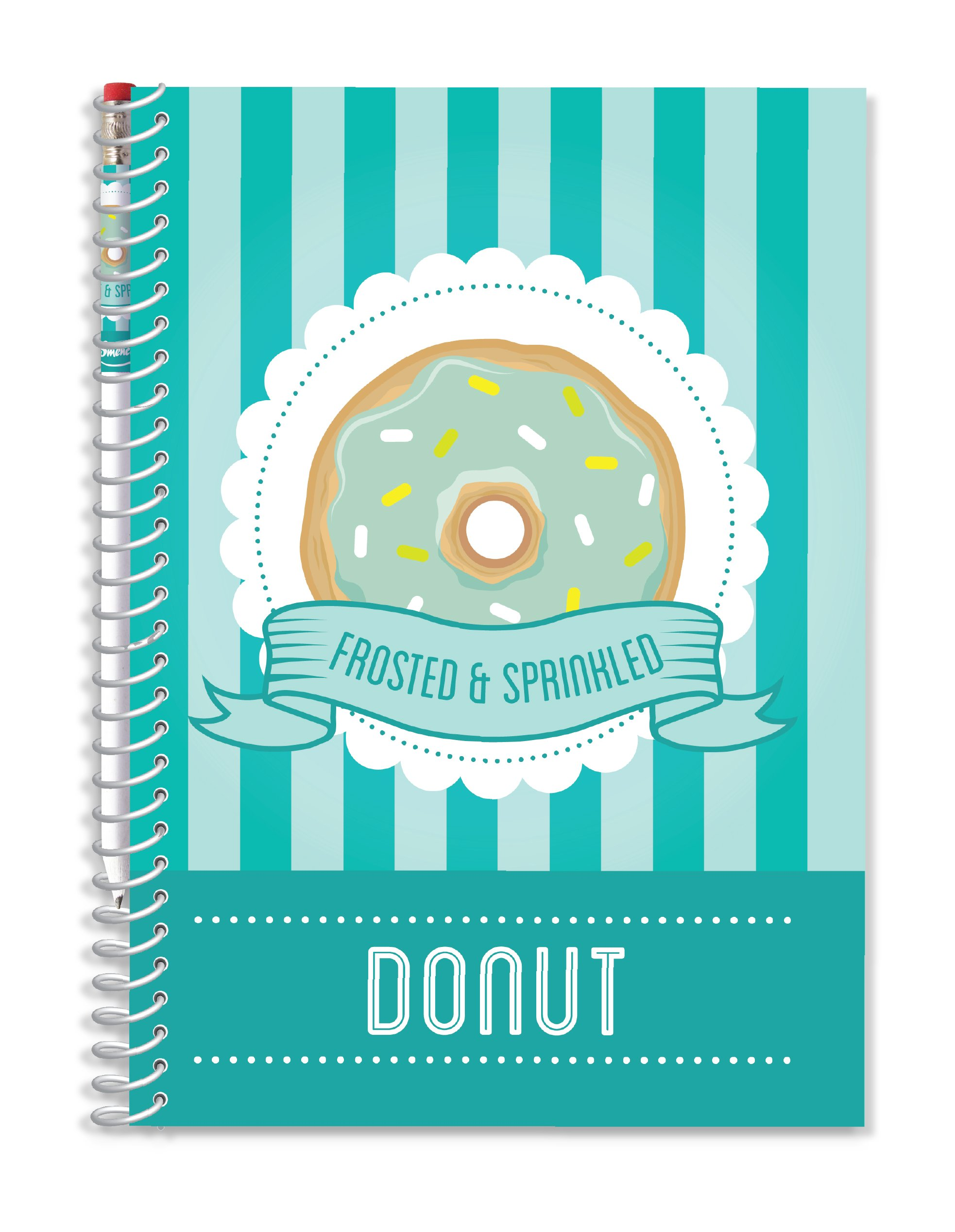 Scentco Sketch & Sniff Drawing Note Paper Pad - Gourmet Donut Scented Cover
