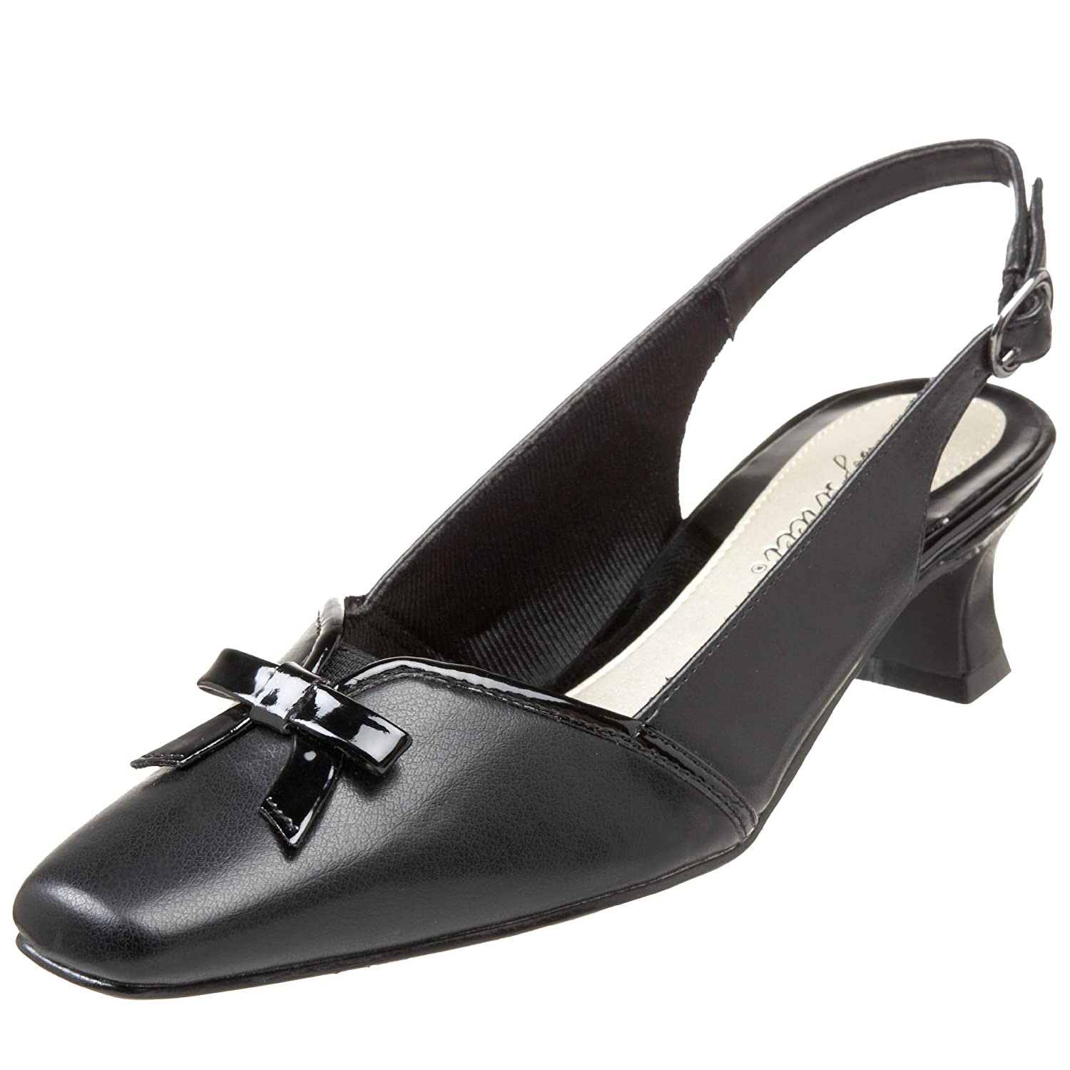 Buy WIDE shoes in 1920s, 1930s, 1940s, 1950s styles? Easy Street Womens Incredible Mid Heel Shoes  AT vintagedancer.com