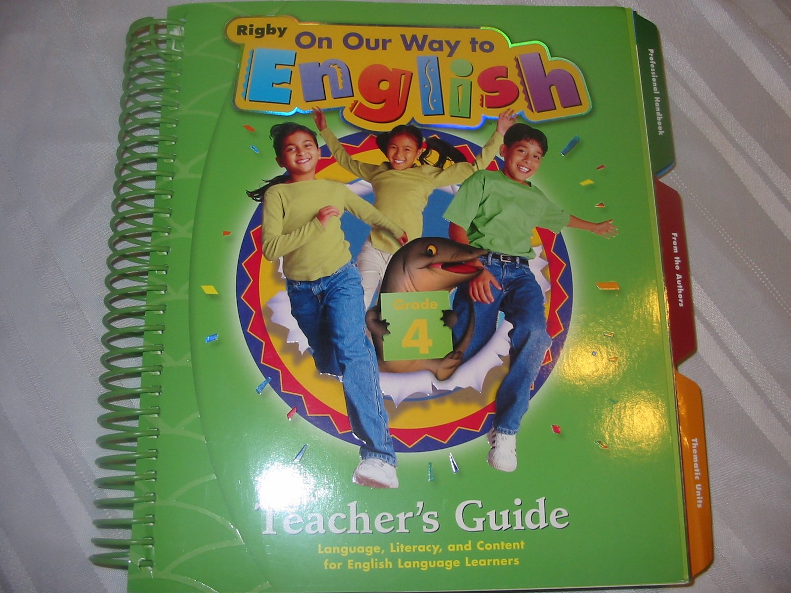 Amazon.com: On Our Way to English Teacher's Guide, Grade 4 (9780757844188):  RIGBY: Books