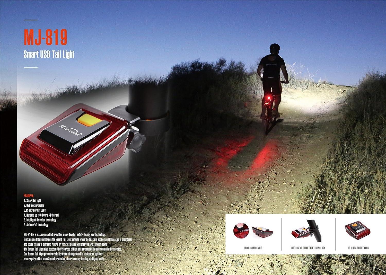 Bicicleta//bicicleta//luz trasera Magicshine MJ 819