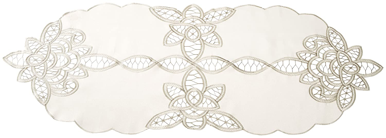 Violet Linen BETENBERG IV-F Placemats 14 x 54 Ivory
