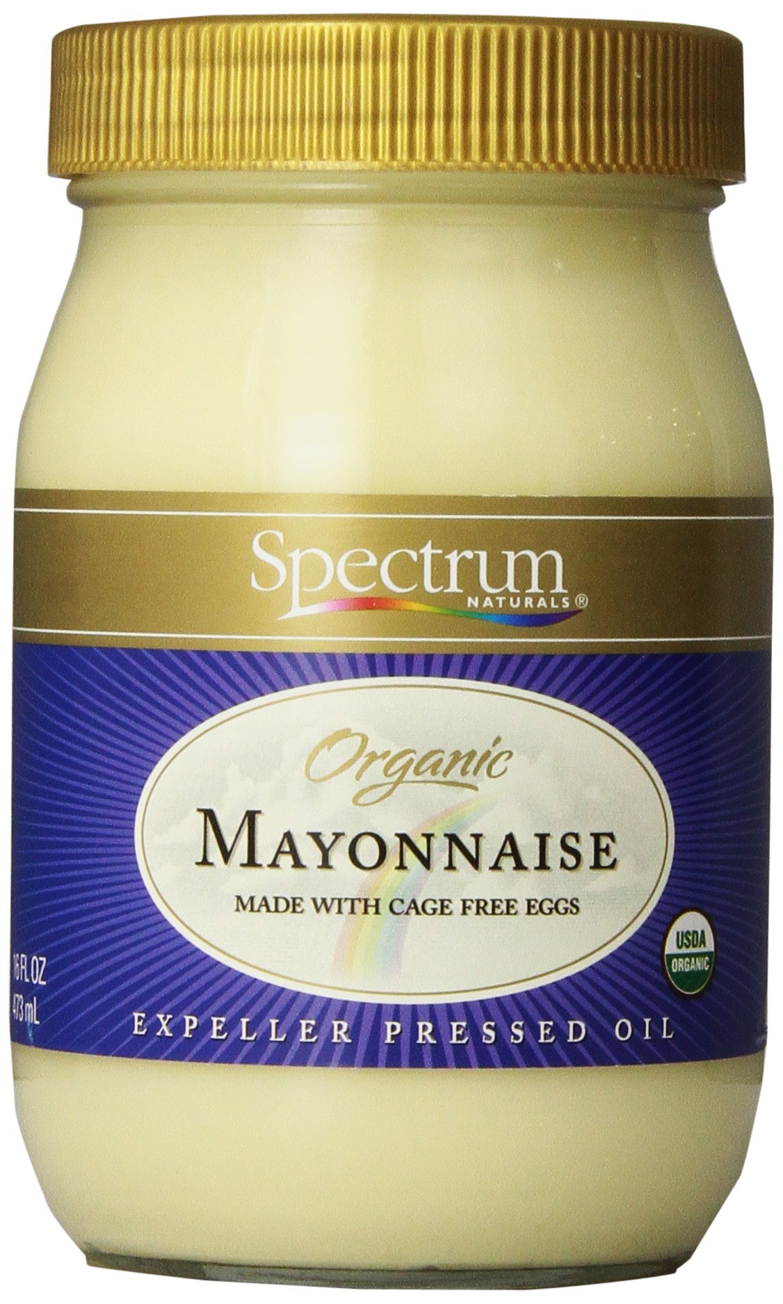 Spectrum Culinary Organic Mayonnaise with Cage Free Eggs, 16 fl. oz.