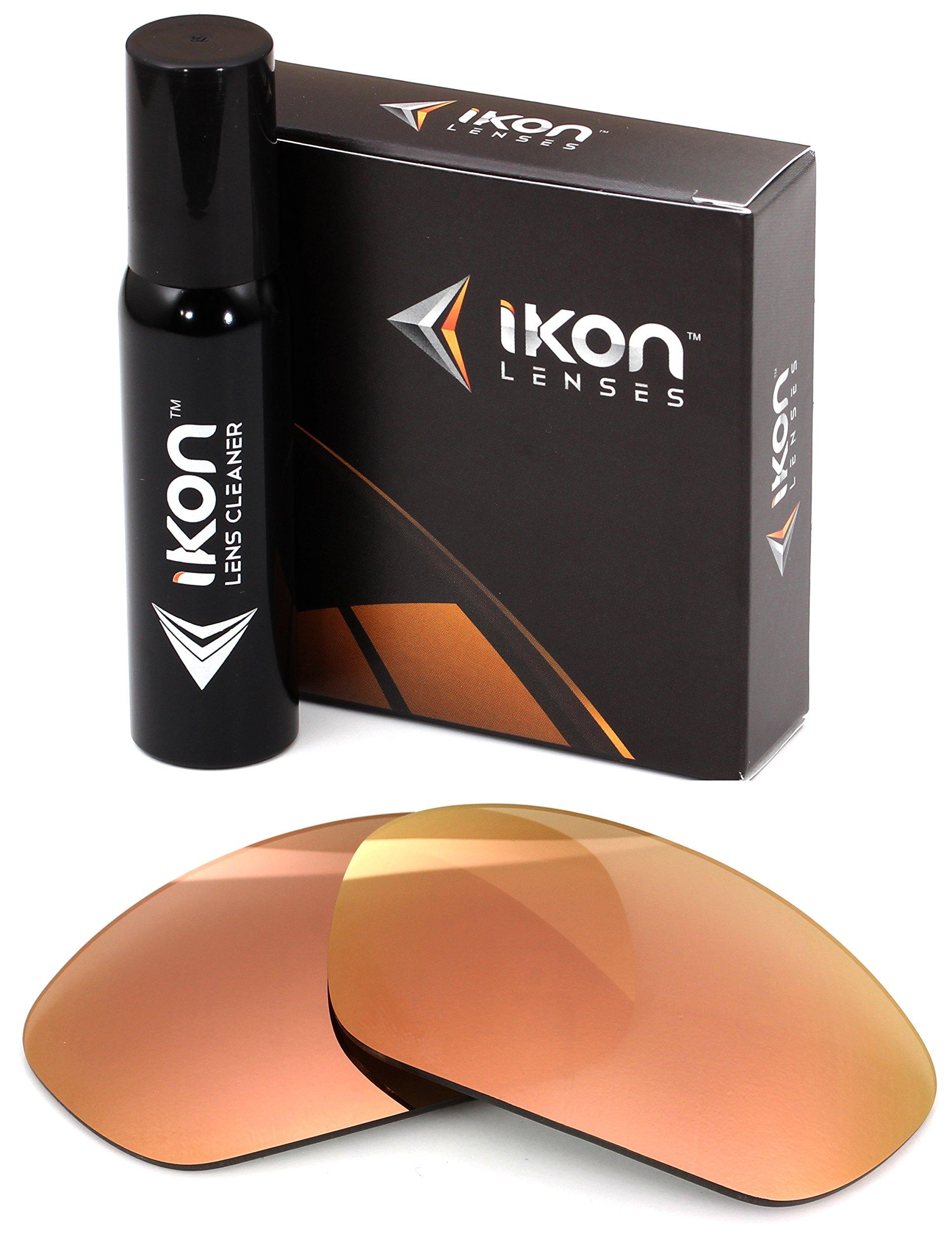 Polarized IKON Replacement Lenses for Arnette Munson Sunglasses - Rose Gold