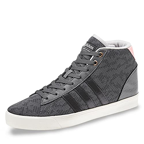 huge selection of c6eb6 2fefa ... new zealand adidas womens cloudfoam daily qt mid trainers four us4.5  grey 6abe7 1752f