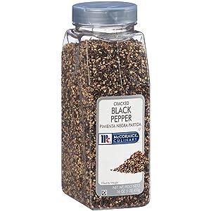 McCormick Culinary Cracked Black Pepper, 16 oz